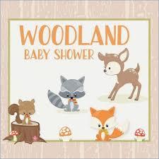 woodland creature baby shower woodland animals baby showers celebrate crafts