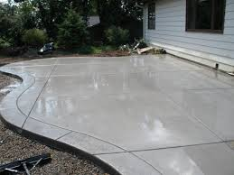 Diy Cement Patio by Interesting Ideas Cement Patio Astonishing How To Install A Diy