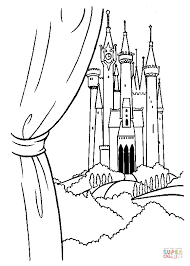 the prince u0027s castle coloring page free printable coloring pages