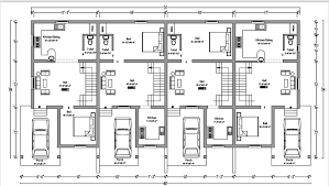 multi family homes plans plans ofow houses in india house modern 194238row floor plan sq ft