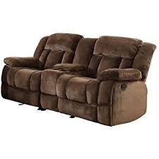 Black Microfiber Loveseat Amazon Com Homelegance 9700fcp 2 Double Reclining Loveseat Brown