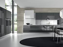 cabinets u0026 storages luxury black modern glossy glass kitchen