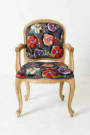 Anthropologie Dining Chairs Floral Chairs Honeysuckle