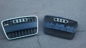 audi rs4 grille audi rs4 grille installed pics info car zshow