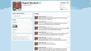 twitter newbie rupert murdoch following fake account cnn