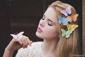 butterfly hair be a butterfly spread your wings butterfly hair accessory photo