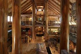 small log home plans with loft modish log cabin designs with loft using wooden antler chandelier