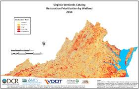 Map Of The State Of Virginia by Virginia Wetlands Catalog