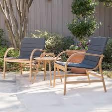 outdoor sitting 3 piece outdoor seating wayfair