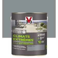leroy merlin le exterieur peinture sol extérieur climats extrêmes v33 gris schiste 2 5l