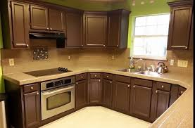 staining kitchen cabinets before and after experience with staining kitchen cabinets