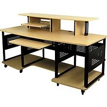 L Shaped Studio Desk Studio Desks Tables U0026 Workstations Musician U0027s Friend