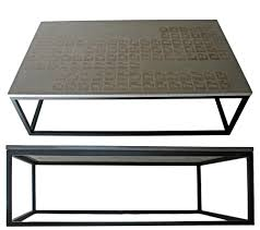 Cement Coffee Table Grey Rectangle Industrial Cement Coffee Table Designs Ideas With