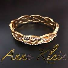 anne klein bracelet images Anne klein braidedstyle pave bangle bracelet poshmark jpg