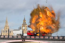 film foreigner 2016 jackie chan blew up a bus near the houses of parliament for new film