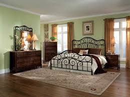 Wood And Iron Bedroom Furniture American Standard Bedroom Furniture