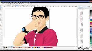 tutorial vektor dengan corel how to make vector art graphic coreldraw full tutorial youtube