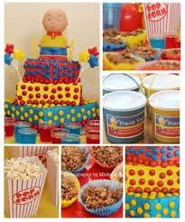caliou birthday party caillou birthday party caillou birthday