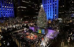 rockefeller center tree lighting launches season