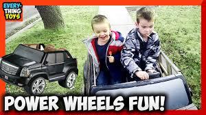 power wheels cadillac escalade custom edition driving a power wheels cadillac escalade ext 12v everything toys