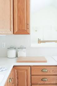 how to update kitchen cabinets without painting updating a kitchen with oak cabinets without painting them
