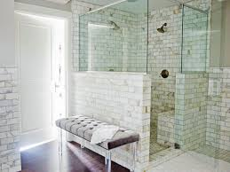 Wainscoting In Bathroom by Exquisite Marble Tile Bath Marianne Brown Hgtv