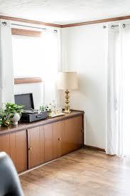 cozy retro inspired family room makeover