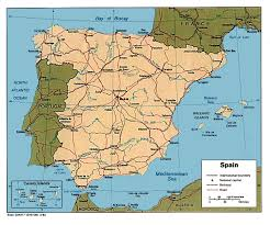 Santander Spain Map by Spain Maps