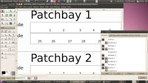 Patch Panel Label Template Excel Patchbay Labeling Excel Page 3 Gearslutz Pro Audio Community