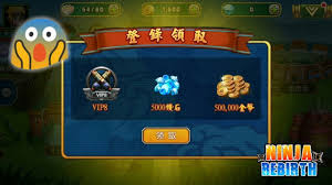 tutorial hack ninja heroes cara mendapat vip 8 diamond gold secara gratis ninja rebirth