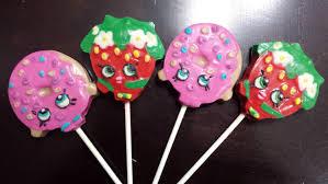 lollipop party favors shopkins inspired chocolate lollipop party favors