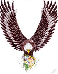 eagle tattoo design in real photo pictures images and eagle
