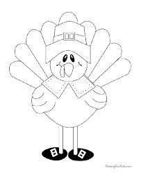 turkey coloring page to print thanksgiving ideas