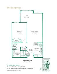 Floor Palns by Floor Plans For The Senior Apartments U0026 Cottages At The Glen In