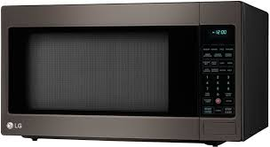 Microwave Toaster Combo Lg Lg Lcrt2010bd 2 0 Cu Ft Countertop Microwave Oven With Sensor