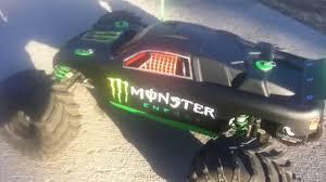 jeep monster energy traxxas rustler with monster energy theme youtube