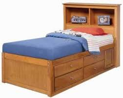 children s twin bookcase captain s bed project plans design
