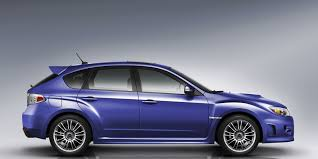 blue subaru hatchback this is how much it really costs to own a subaru wrx sti