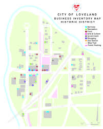 City Of Miami Zoning Map by City Of Loveland Historic Downtownvv