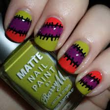 26 halloween nail designs pictures 1442423365 cute monster