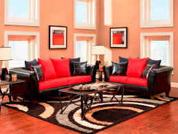 Black And Red Bedroom by Black And Red Living Room Decor Best 25 Living Room Red Ideas