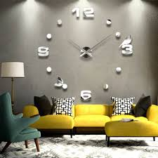 online get cheap large wall clock silver aliexpress com alibaba