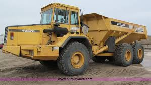 volvo haul trucks for sale 1993 volvo a30 articulated dump truck item e2817 sold t