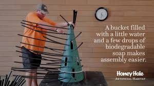 how does it take to assemble a honey tree