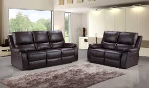 three seater recliner sofa panther 3 seater recliner sofa brown we do sofas