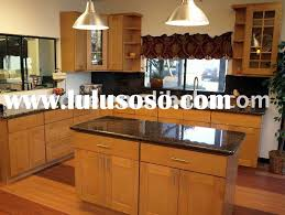 Modern Oak Kitchen Cabinets Modern Wood Kitchen Cabinets Decorating Clear