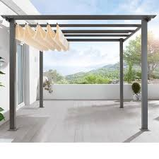 Awning Gazebo Best 25 Retractable Shade Ideas On Pinterest Retractable
