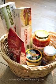 family gift baskets pasta family gift idea house living