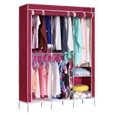 wardrobe homdox portablerdrobe closet storage organizerclothes