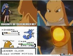 Dragonite Meme - oh dragonite remembers you very well clair by mrgruntman meme